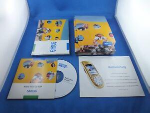 Original Nokia 3650  Bedienungsanleitung für Handy Phone Anleitung Software CD