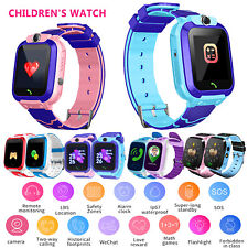 Anti-lost 1.44'' Smart Watch GPS Tracker SOS Call SIM WiFi Xmas Gifts for Kids