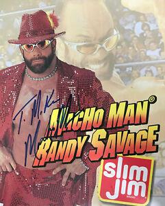 Randy Savage ( Macho Man ) WWE WWF Autographed Signed 8x10 Photo REPRINT