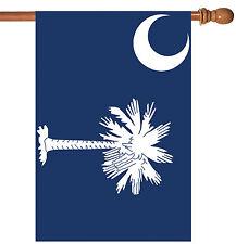 Toland South Carolina State Flag 28 x 40 Patriotic Usa House Flag