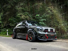 Fender flares for Mini Countryman CONCAVE wide wheel arches Cooper JCW 70mm 4pcs