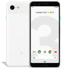 """SALE - Google Pixel 3 (5.5"""") G013A - 128GB - Clearly White (Unlocked)"""
