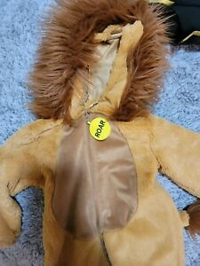 Going Wild Child Toddler Lion Costume 18M Roar very cute