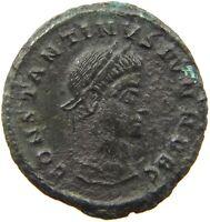 ROME EMPIRE CONSTANTINUS FOLLIS VOT #a27 151 yy