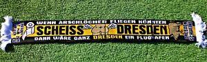 """Anti Dresden Schal """"Flughafen"""" Ultra Fan Kurve NEU + 150x15 cm + 100% Acryl +"""