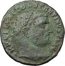 CONSTANTINE I the GREAT 313AD Ancient Roman Coin Zeus Jupiter Cult  i40851