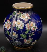 Villeroy & Boch Taiping Vase - 20er Jahre - Goldrand - handbemalt