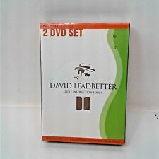 David Leadbetter 2 DVD Golf Instruction Series: Swing Faults & Fixes Fact Sealed