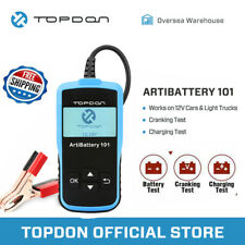 TOPDON AB101 Car Battery Tester Automotive Battery Analyzer Cranking & Charging