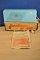 Soviet vintage old radio-speaker in box.Dombass 308  . USSR