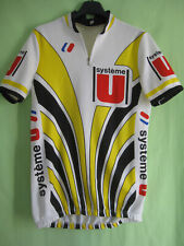 Maillot cycliste Système U Vintage 80'S sport FIGNON Laurent Jersey - M