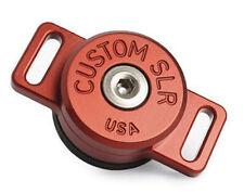 Custom SLR C-Loop HD Camera Strap Mount in rosso (STOCK Regno Unito) NUOVO CON SCATOLA