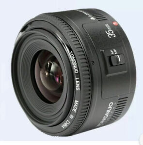 YONGNUO YN35mm F2 Lens 1:2 AF/MF Wide Angle Fixed Prime Auto Focus Lens