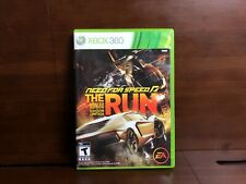 Need for Speed: The Run LIMITED EDITION (Microsoft Xbox 360) GAME DISC & CASE