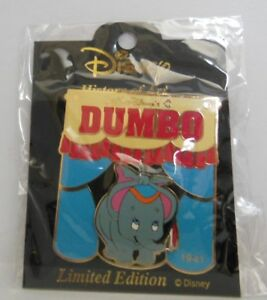 Disney Japan Dumbo In A Circus Tent History of Art 2000 LE Pin