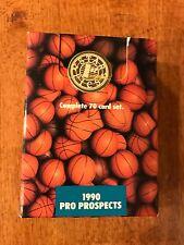 1990 STAR PICS BASKETBALL PRO PROSPECTS 70-CARD SET