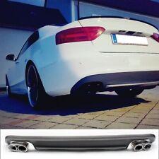 ABS Diffusor für Audi A5 Modelle mit Standard Stossstange Stoßstange für S5 look