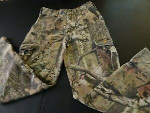 Camo Hunting Cargo Pants Trousers Boy Youth Sz L  by BROWNING JR + L/S Tee