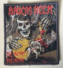 BROCAS HELM WOVEN Patch maiden Manilla road Cirith ungol ozzy manowar priest