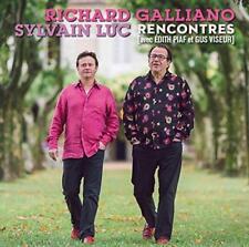 Richard Galliano/Sylvain Luc - La Vie En Rose - Rencontres Avec Edith P (NEW CD)