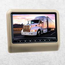 """22,9cm 9"""" Auto Kopfstützen Monitor Display für DVD Player USB SD universal beige"""