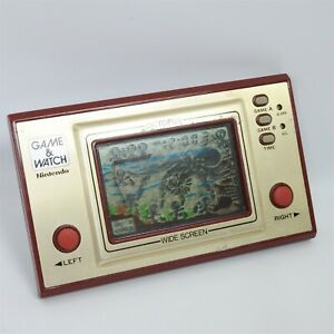LCD OCTOPUS Game Watch OC-22 Wide Screen Tested Nintendo JAPAN Ref 1807