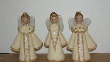 (3) VINTAGE ANGELS
