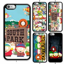 Cartoon South Park Bus Case Cover For Apple iPhone 12 iPod / Samsung Galaxy 20