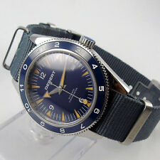 41mm debert blue sterile dial sapphire glass miyota Automatic mens Watch D86