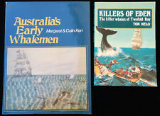 Killers of Eden Tom Mead Whales Twofold Bay + Australia's Early Whalemen 2 Books