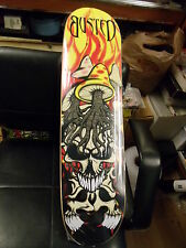 """Nos 1st Busted Brand 7ply 100% Canadian Maple Retro Skateboard Deck 31 x 7.75"""""""