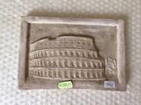 QUADRO IN RILIEVO TERRACOTTA 20 cm ST48 scultura greco romano antica COLOSSEO