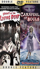 Night of the Living Dead & Carnival of Souls (DVD, 2002) FS Double Feature