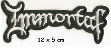 Immortal - Logo patch - FREE SHIPPING