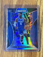 #12 RJ Barrett 2019-20 Panini Blue Silver Prizm Draft Picks Rookie RC Card #66🔥