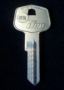 HF16 MERCEDES BENZ Trunk Door KEY Blank 1960-1968 230SL 250SL 280SL W113 W111