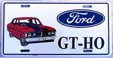 FORD GT-HO Novelty Number Plate