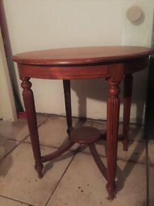 Tavolino antico rotondo Luigi Filippo