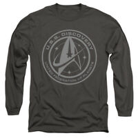STAR TREK DISCOVERY DISCOVERY Licensed Adult Men's Long Sleeve Tee Shirt SM-3XL
