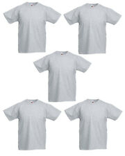 5 PACK FOTL ORIGINAL KIDS T SHIRT BOYS GIRLS BACK TO SCHOOL PE KIT SUMMER SALE