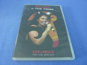 Moana & The Tribe Live & Proud DVD Region 0 Free Tracked Postage