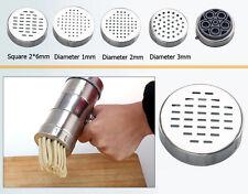 5Heads Home Pasta Noodle Maker Spaghetti Press Machine Convenient Tool Durable