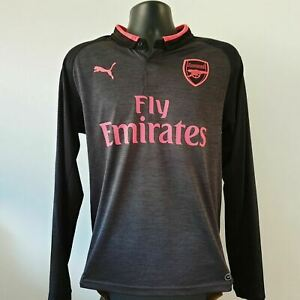 Arsenal Shirt - 2017/2018 - Medium - Puma 3rd Jersey Long Sleeve