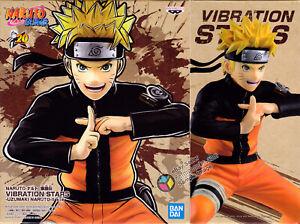 Naruto Shippuden Vibration Stars Naruto Figure Official Licensed Banpresto