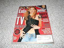 Entertainment Weekly Buffy the Vampire Slayer Sarah Michelle Gellar 2001