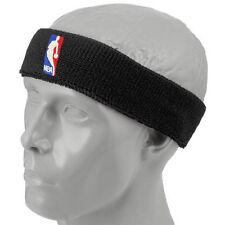 NBA Black Logoman Headband - NBA