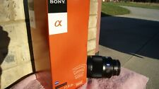 Sony SAL 135mm f/1.8 AF MF Lens, SAL135F18Z, opened box; A-MOUNT