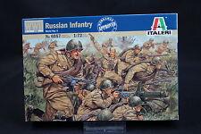 XZ066 ITALERI 1/72 maquette figurine 6057 Russian Infantry WWII infanterie russe