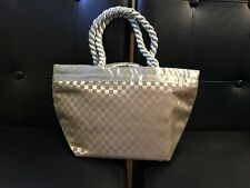 New NaRaYa Medium Gold Quilted Shoulder Tote Bag