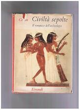 Ceram Civiltà sepolte Einaudi  1953